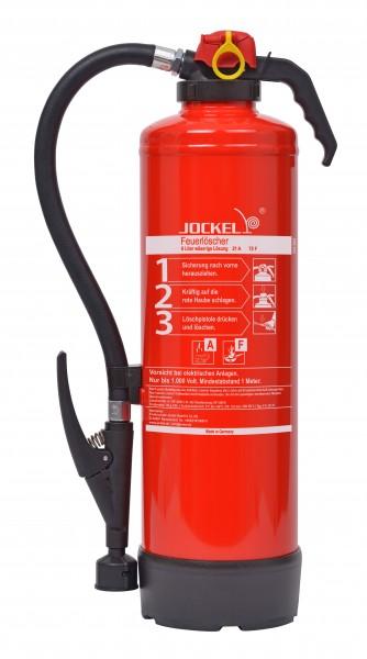 Jockel 6 Liter Auflade- Fettbrandlöscher F6JX21 75F