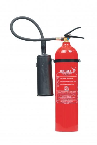 CO2 Kohlendioxid Feuerlöscher 5 kg Jockel CO2 K5 AJ