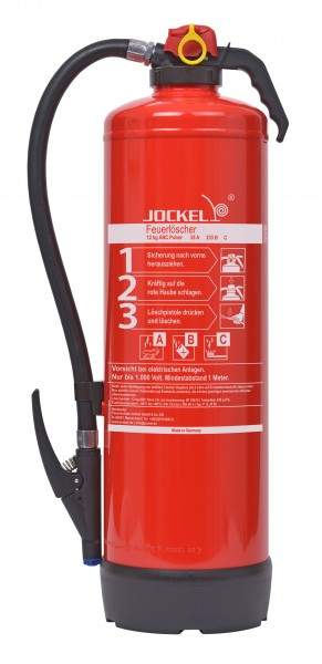 Jockel 12 kg ABC-Auflade-Pulverfeuerlöscher P12JX 55