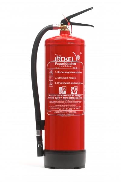Jockel 6 Liter High Performance Dauerdruck - Schaumlöscher S6LJM 43 BIO MIT WANDHALTER