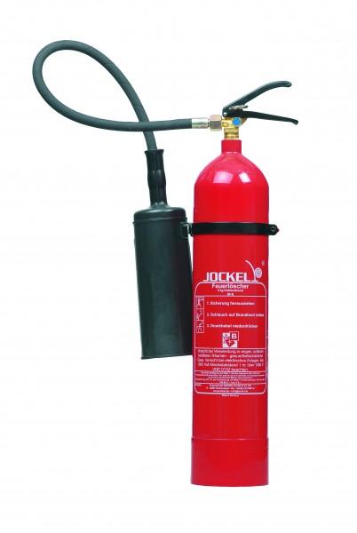 Jockel CO2 - Feuerlöscher K5J mit Wandhalter