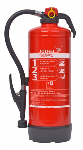 Jockel 9 Liter Dauerdruck-Wasserfeuerlöscher WN9LJM27
