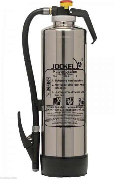 Jockel Feuerlöscher 6 kg ABC-Auflade-Pulver Feuerlöscher P6J 43 Design