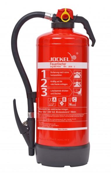 Jockel 9 kg ABC-Auflade-Pulverfeuerlöscher P9JX 55