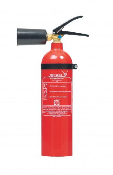 CO2 Kohlendioxid Feuerlöscher 2 kg Jockel CO2 K2 AJ