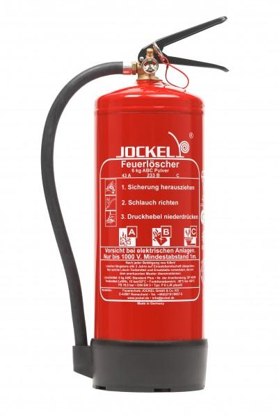 Jockel 6 kg Dauerdruck-ABC-Pulver Feuerlöscher P6LJKM 43
