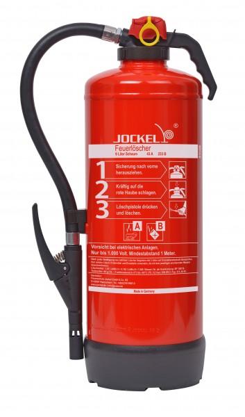 Jockel 9 Liter Schaum Auflade-Feuerlöscher S9JX Bio 43