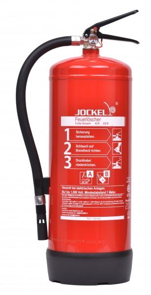 Jockel 9 Liter Dauerdruck - Schaum Feuerlöscher S9LJM 43 BIO